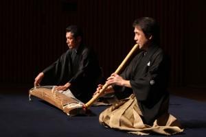 「秋風曲」 箏:山登松和師 尺八:善養寺惠介師