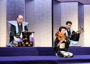 義太夫「日本振袖始−大蛇退治之段」