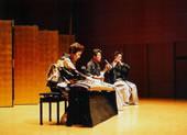 「熊野(ゆや)」 箏:亀山香能、三絃:山登松和、笛:福原徹